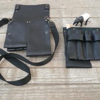 porte outils coiffure (ceinture ou bandoulière) 20x20cm