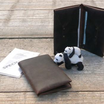 porte papiers véhicule 4 poches 14,5x9cm