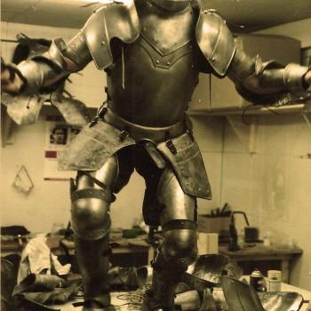 armures factices Jeanne d'Arc / L. Besson