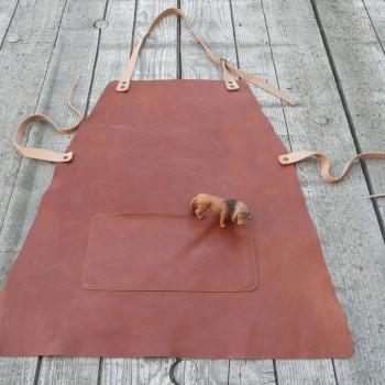 tablier hauteur 60cm largeur maxi 54cm sans les liens